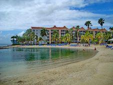 Free Resort, Beach, Caribbean, Sea Royalty Free Stock Photography - 125016257