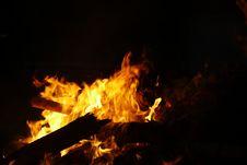 Free Fire, Flame, Bonfire, Heat Stock Photo - 125016540