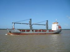 Free Water Transportation, Container Ship, Ship, Waterway Royalty Free Stock Images - 125016609