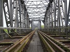 Free Track, Transport, Bridge, Iron Stock Photo - 125456500
