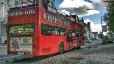 Free Bus, Double Decker Bus, Transport, Tour Bus Service Stock Photos - 125456523