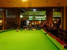 Free Billiard Room, Snooker, Billiard Table, English Billiards Royalty Free Stock Images - 125456589