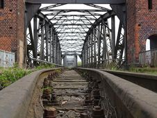 Free Track, Iron, Transport, Bridge Stock Image - 125456621