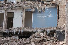 Free Demolition, Earthquake, Disaster, Rubble Stock Photos - 125456673