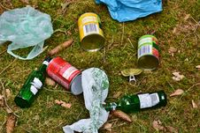 Free Litter, Grass, Waste, Plastic Royalty Free Stock Photos - 125595978