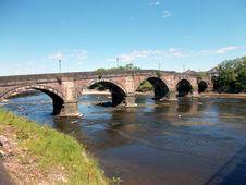 Free Bridge, River, Arch Bridge, Waterway Stock Photography - 125596312