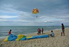 Free Sea, Windsports, Parasailing, Kite Sports Royalty Free Stock Photography - 125596367