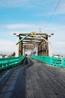 Free Wooden Trestle Bridge Stock Photography - 12566602