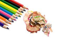 Free Sharpened Rainbow Royalty Free Stock Photography - 12574447