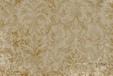 Free Antique Floral Background Stock Photography - 12578652
