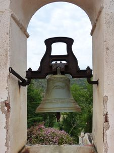 Free Bell, Church Bell, Arch, Historic Site Royalty Free Stock Image - 125839996