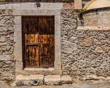 Free Wall, Stone Wall, Window, Door Stock Images - 125840024