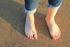 Free Foot, Leg, Footwear, Toe Stock Images - 125840134
