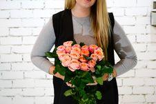 Free Flower, Flower Arranging, Floristry, Flower Bouquet Stock Photos - 125840453