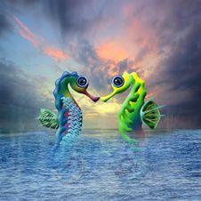 Free Water, Fish, Organism, Seahorse Stock Photo - 125840630