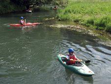 Free Waterway, Kayaking, Sea Kayak, Kayak Stock Image - 125840641