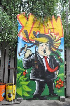 Free Art, Graffiti, Street Art, Mural Stock Image - 125840671