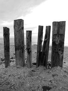 Free Black And White, Monochrome Photography, Monolith, Wood Royalty Free Stock Image - 125934366