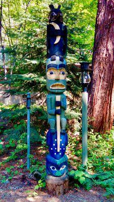 Free Totem, Totem Pole, Sculpture, Artifact Stock Images - 125934424