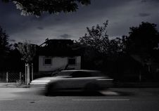 Free Car, Sky, Black, Black And White Stock Images - 125934804