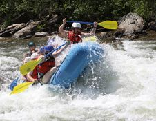 Free Rafting, Rapid, Water Transportation, Waterway Stock Photography - 125934902