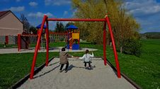 Free Playground, Outdoor Play Equipment, Public Space, Recreation Royalty Free Stock Photos - 125934908