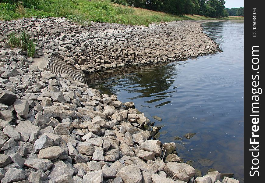 Rock, Water Resources, Water, Stream Bed