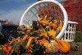 Free A Wagon-full Of Pumpkins Stock Image - 1262781