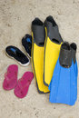Free Footwear And Fins Stock Images - 1269494