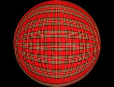 Free Chequered Ball 2 Stock Images - 1260614