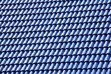 Free Blue Roof Tile Stock Photography - 1260702