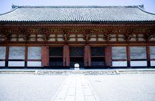 Free Japanese Shrine Royalty Free Stock Image - 1261036