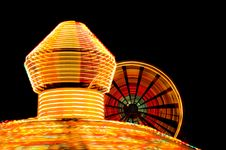 Free Carnival Rides - Fair Royalty Free Stock Photography - 1261067