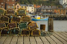 Free Fishing Scene Stock Image - 1261691