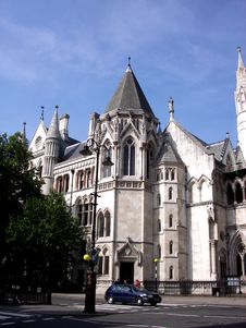 Royal Courts Of Justice 2 Stock Image