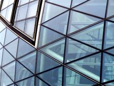 Free Glass Building Royalty Free Stock Photography - 1262447