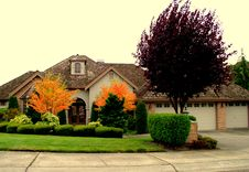 Free Luxury House Royalty Free Stock Image - 1262876