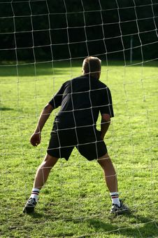 Sport, Goal Keeper Royalty Free Stock Images