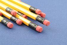 Free Yellow Pencils Stock Photos - 1263103
