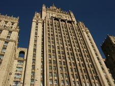 Free Building Stalin Epoch (Moscow) Royalty Free Stock Photos - 1263328