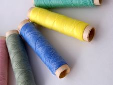 Free Sewing Thread Royalty Free Stock Images - 1264529