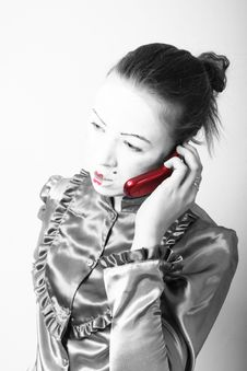 Free Red Phone Stock Photos - 1264543