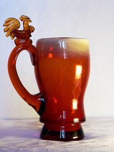 Free Vaza With Cockerel Stock Photography - 1264612