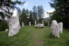 Free Mystic Stone Circle Stock Image - 1264871