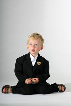 Free Little Business Man 2 Royalty Free Stock Photos - 1265358