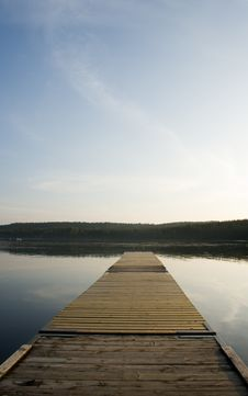Free Wooden Jetty Royalty Free Stock Photography - 1265527