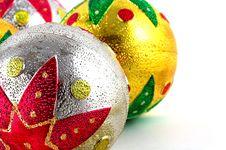 Free Christmas Balls Royalty Free Stock Photos - 1265938