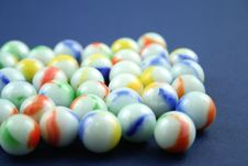 Free Marbles Royalty Free Stock Photography - 1266717
