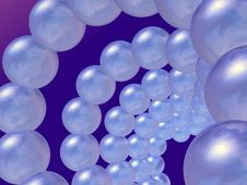 Free Swirl Of Spheres Stock Image - 1267571