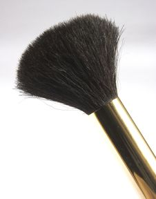 Free Cosmetic Brush Stock Photography - 1267972